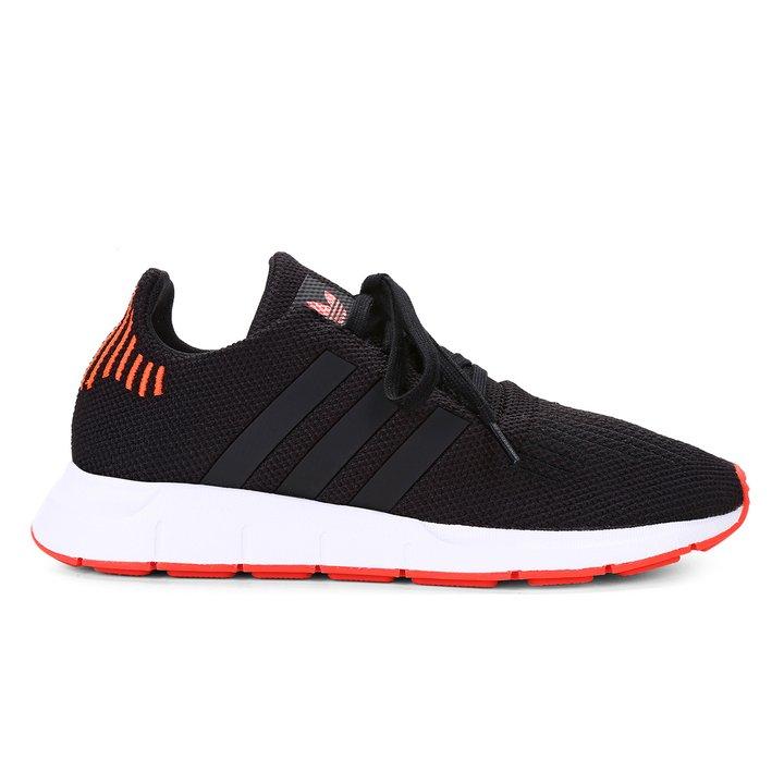 3e0bab917 Tênis Infantil Adidas Swift Run - Preto e Vermelho - Compre Agora ...