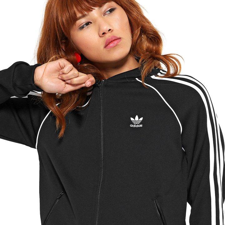 ed0de275cd Jaqueta Adidas SST Trefoil - Preto - Compre Agora