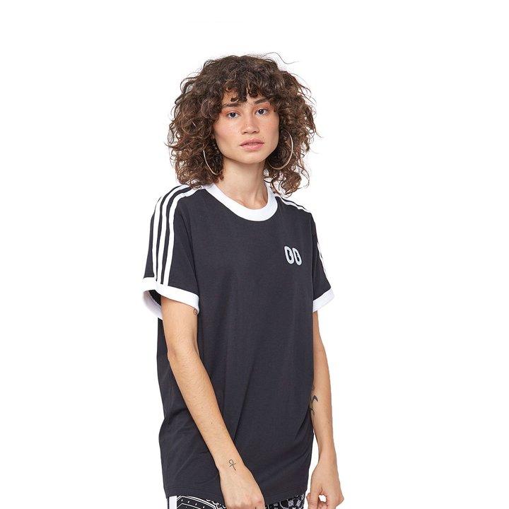 d9fbd9c332e Camiseta Adidas 3 Stripes - Preto - Compre Agora