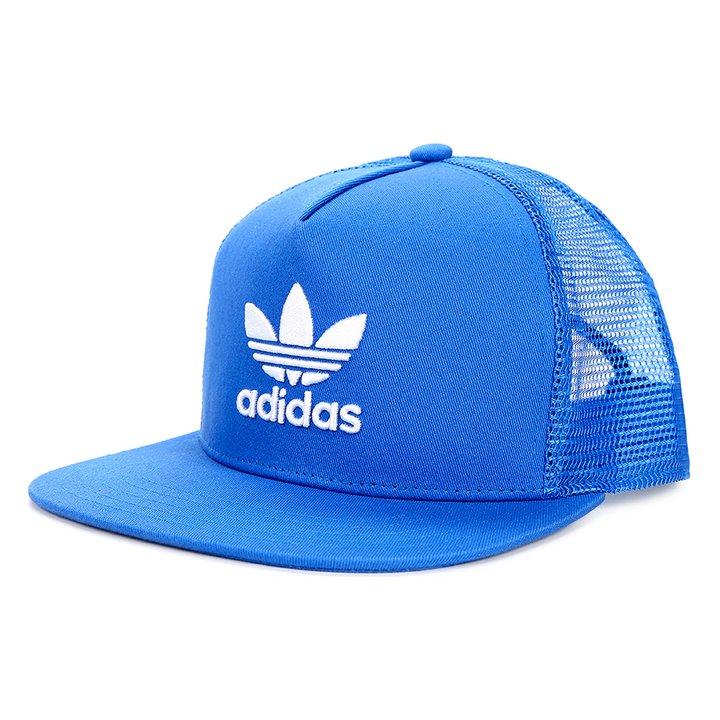 Boné Adidas Trefoil Trucker - Azul - Compre Agora  bbce544e409