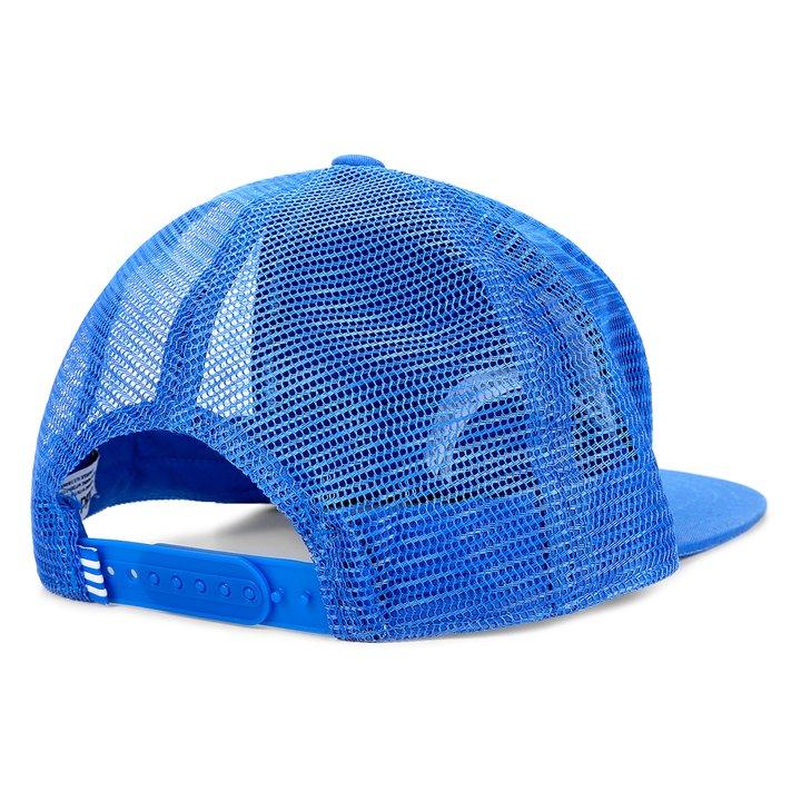 Boné Adidas Trefoil Trucker - Azul - Compre Agora  a16831c4966