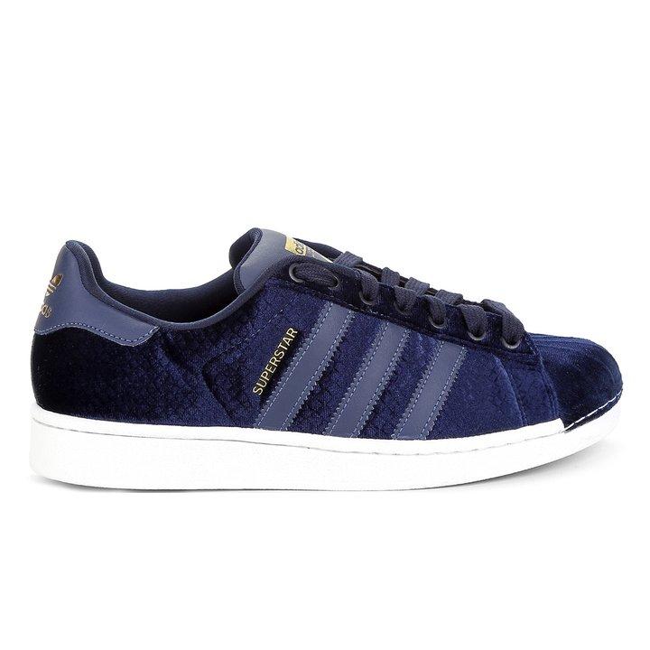 be2c92ceb7 Tênis Adidas Superstar - Marinho | FREE LACE