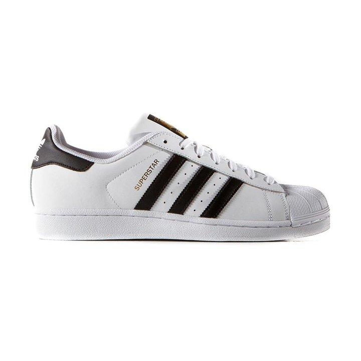 67fec961b67 Tênis Adidas Superstar Foundation - Branco e Preto - Compre Agora ...