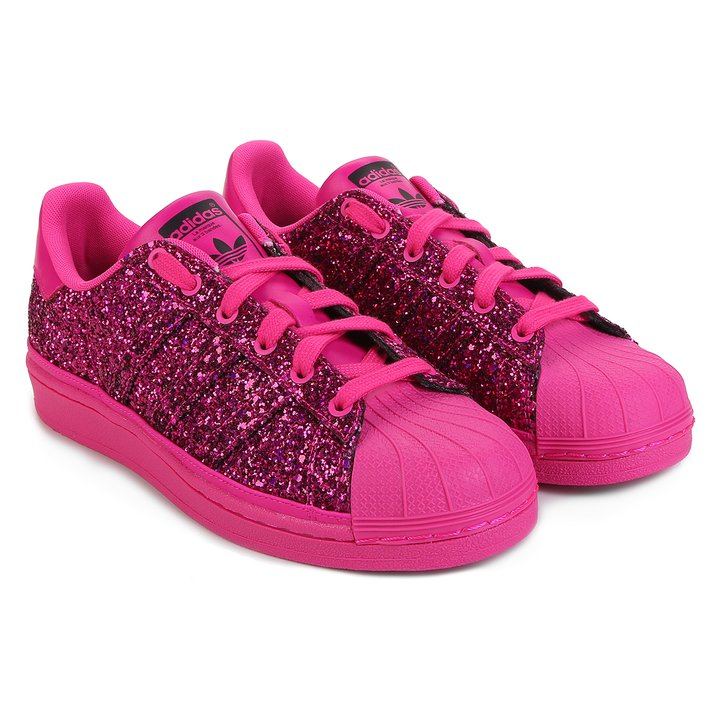 7cfad689064 Tênis Adidas Superstar Out Loud - Pink - Compre Agora