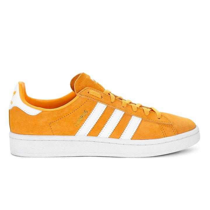 66f3a80175 Tênis Adidas Campus W - Laranja e Branco - Compre Agora