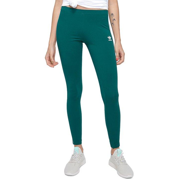 d289c6df3 Calça Adidas Tight 3 Stripes - Verde - Compre Agora