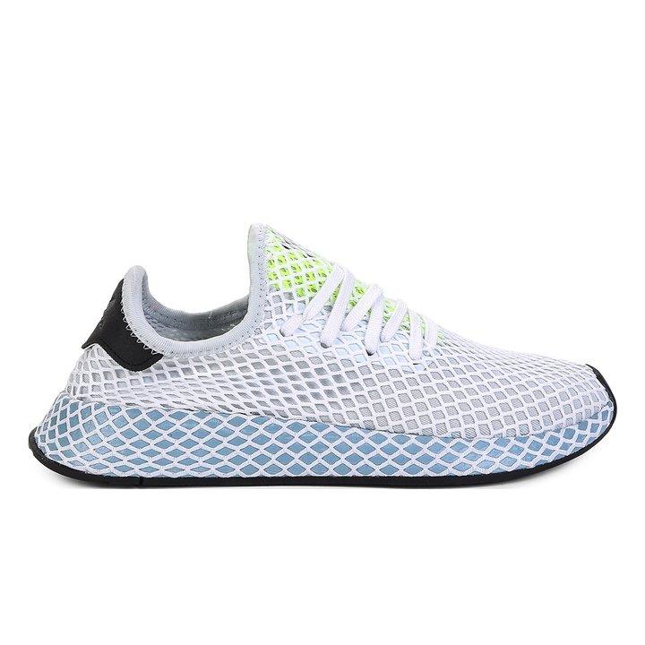 c9f51057097 Tênis Adidas Deerupt - Azul e Cinza - Compre Agora