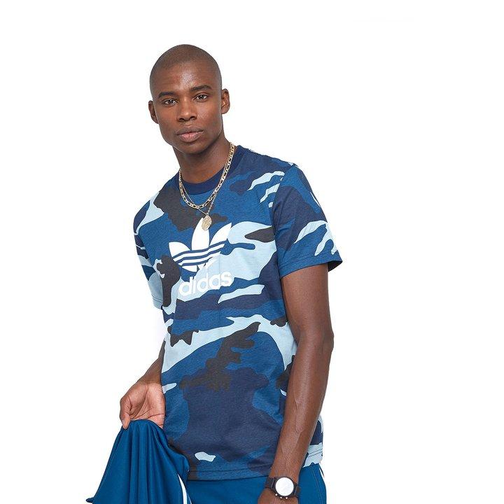 1751bacd768 Camiseta Adidas Camo - Colorido - Compre Agora