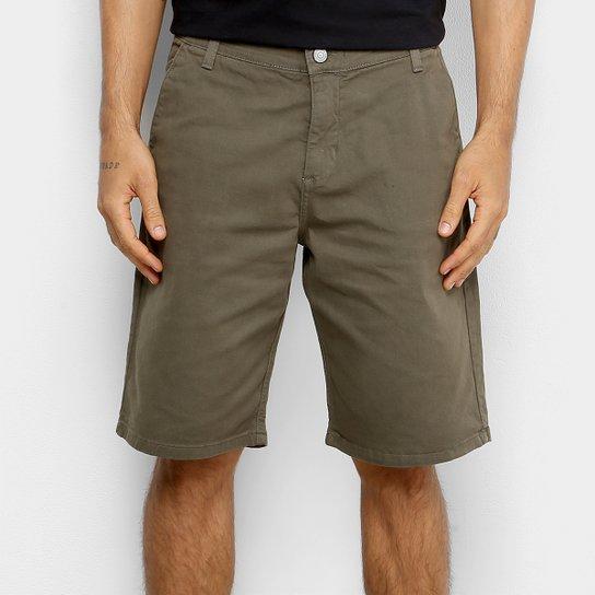 Bermuda Sarja DC Shoes Walkshort Worker Masculina - Verde Militar