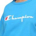 Blusa Cropped Champion Logo Script Heritage