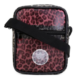 Bolsa Shoulder Bag Seven Brand Animal Print