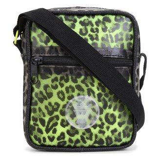 Bolsa Shoulder Bag Seven Brand Animal Print