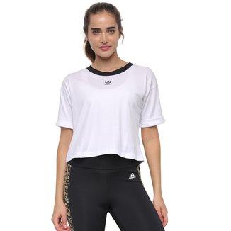 Camiseta Adidas Cropped Feminina