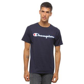 Camiseta Champion Silk Logo Manuscrito