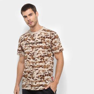 Camiseta DC Especial Iqui Camo Masculina