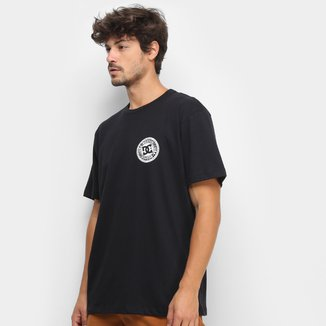 Camiseta DC Shoes Basic Circle Star F/B Masculina