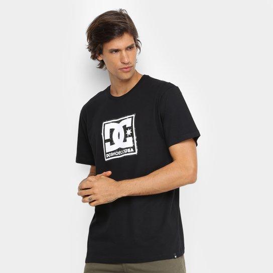 Camiseta DC Shoes Basic Pattern Box Masculina - Preto