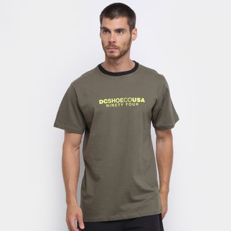 Camiseta DC Shoes Basic Tagans Masculina