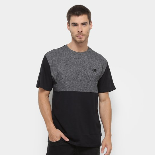 Camiseta DC Shoes ESP Block Masculina - Preto