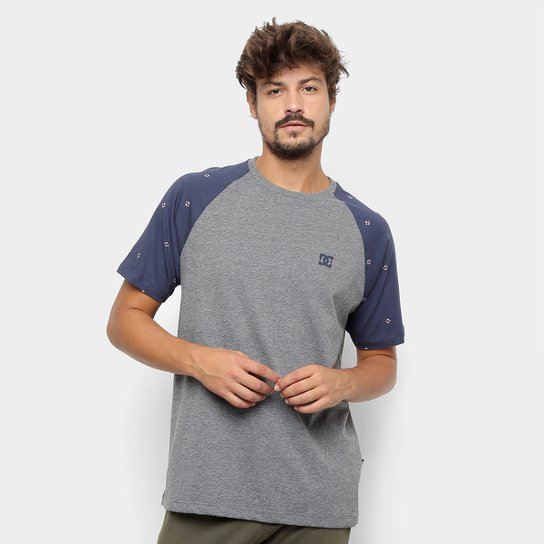 Camiseta DC Shoes ESP Cresdee Pocket Masculina - Mescla