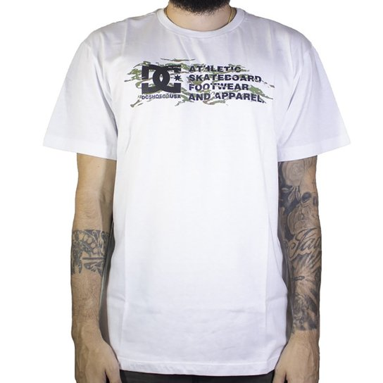 Camiseta DC Shoes Full Transition - Branco