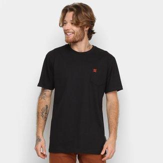 Camiseta DC Shoes Slim Pocket Masculina