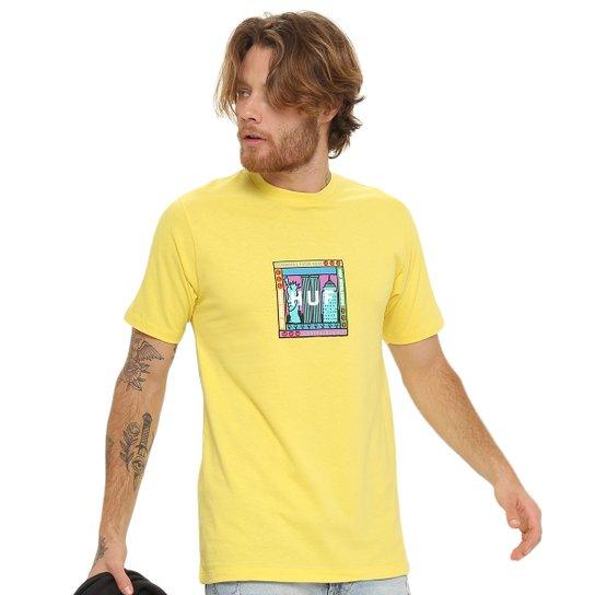 Camiseta HUF Gift Shop - Amarelo