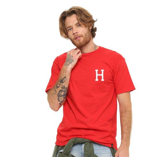 Camiseta HUF Joe Coll Classic Snoopy - Vermelho
