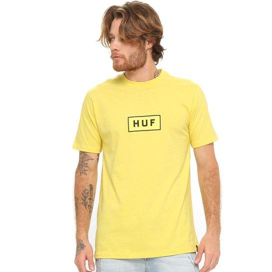 Camiseta HUF Vibes - Amarelo