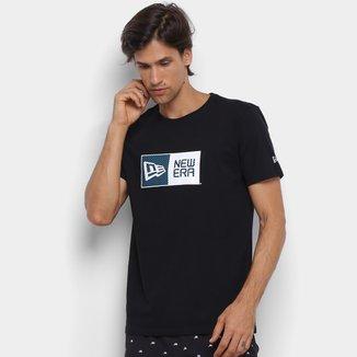 Camiseta New Era Essentials Polka Dots Logo Box Masculina