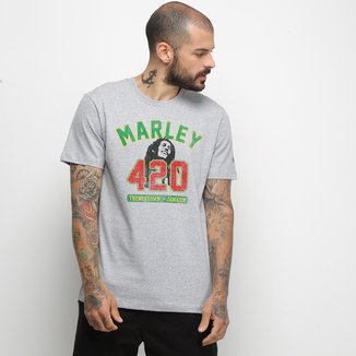 Camiseta New Era Universal Bob Marley Masculina