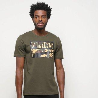 Camiseta Puma Rebel Camo Filled Masculina