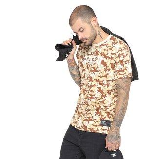 Camiseta Starter Black Label Camuflada