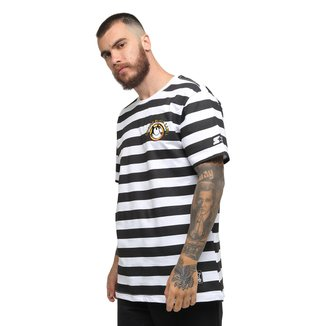 Camiseta Starter Black Label Gato Felix Stripes