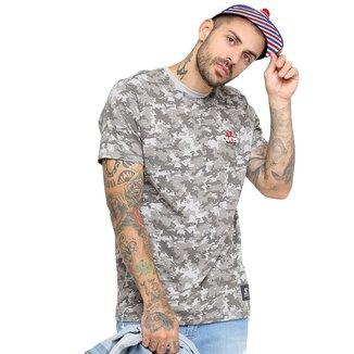 Camiseta Starter Camuflada Especial Flower