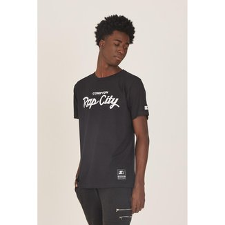 Camiseta Starter Estampada Compton Rap City Masculino