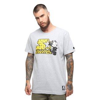 Camiseta Starter Gato Felix Whistle
