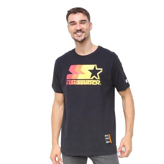 Camiseta Starter Soul Colors - Preto