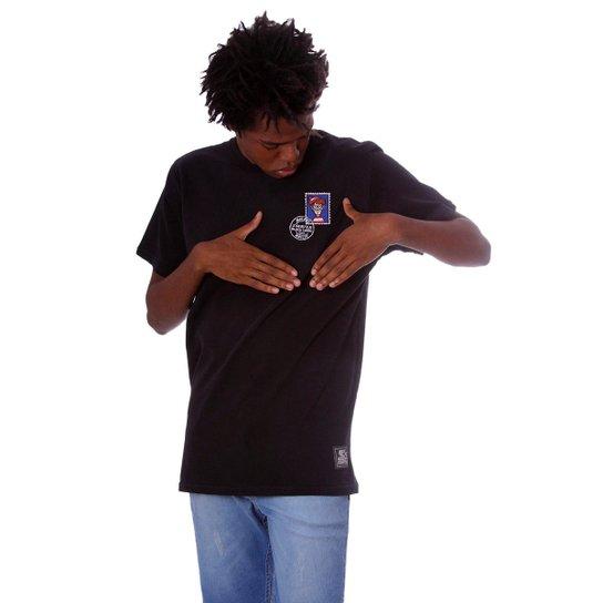 Camiseta Starter Wallys Memories - Preto