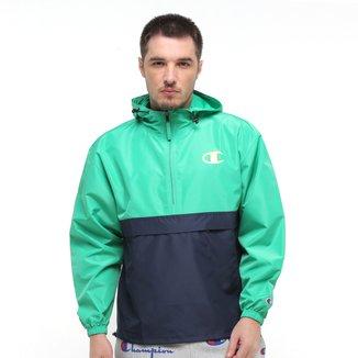 Jaqueta Corta Vento Champion Colorblocked Packable Jacket