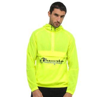 Jaqueta Corta Vento Champion Logo 3D Life® Anorak Jacket