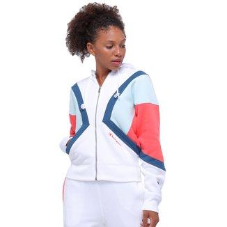 Jaqueta Moletom Champion Colorblock Com Capuz Weave®