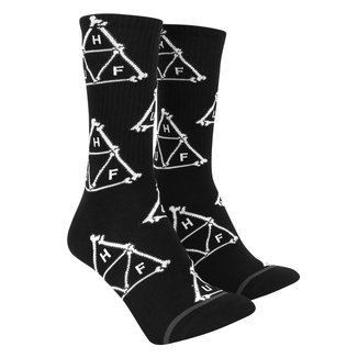 Meia Cano Alto Huf Boner Triangle