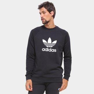 Moletom Adidas Trefoil Crew Masculino