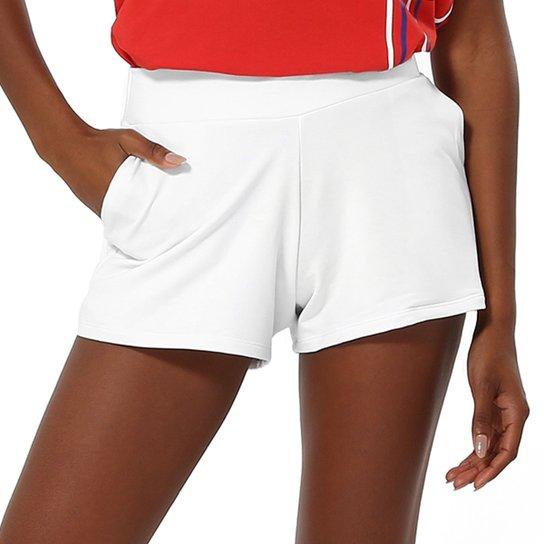 Shorts Fila Gold - Branco
