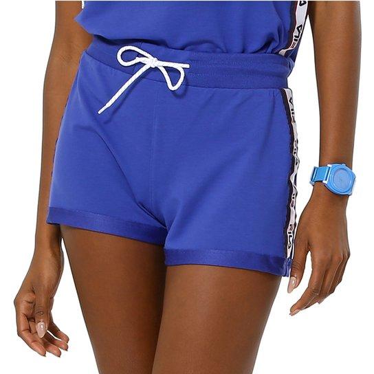 Shorts Fila Taped - Azul