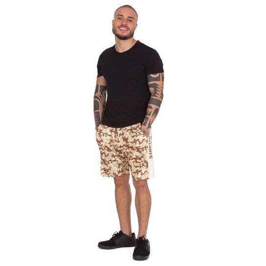 Shorts Starter Camuflado - Bege