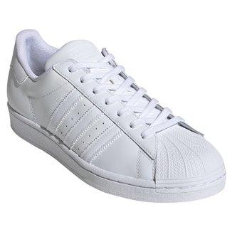 Tênis Couro Adidas Superstar