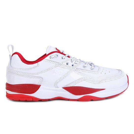 Tênis DC Shoes E.Tribeka SE - Branco+Vermelho