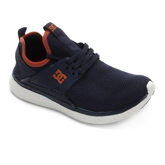 Tênis DC Shoes Meridian - Marinho+Caramelo